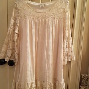 Paisley Vine lacey dress/top